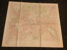 LARGE MINNEAPOLIS, ST PAUL & VICINITY GEOLOGICAL SURVEY MAP