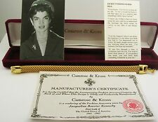Jackie Kennedy Tailored Mesh Bracelet (with original box and paperwork)