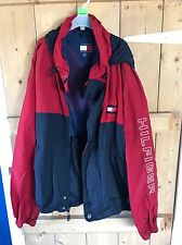 Vintage Tommy Hilfiger Sailor Jacket Red Blue Size XL
