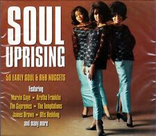 SOUL UPRISING - 50 EARLY SOUL & R&B NUGGETS (NEW SEALED 2CD)
