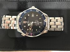 Omega Seamaster 40 Years James Bond Limited Edition Watch 2537.80.00 Automatic