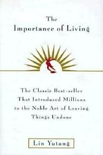 The Importance of Living by Yutang, Lin