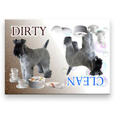 KERRY BLUE TERRIER Clean Dirty DISHWASHER MAGNET Dog