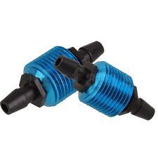 2pcs 80120 RC1:8 1:10 1:16 Nitro Car Engines Parts Blue Fuel Tank Air Cooler