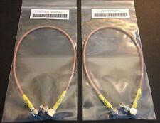 Motorola GR300 GR500 CDR500 CDR700 Duplexer Cables RX & TX RG400 Angle BNC