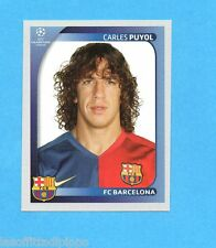 PANINI-CHAMPIONS 2008/2009-Fig.96- PUYOL - BARCELLONA -NEW BLACK
