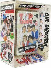 ONE DIRECTION TOP TRUMPS COLLECTORS TIN + 2 PACKS BRAND NEW GREAT GIFT