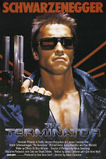 TERMINATOR MOVIE POSTER - 24 x 36 SHRINK WRAPPED- SCHWARZENEGGER CAMERON 33158