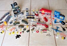 3 TOY SETS IN ONE MILITARY POLICE & FIRE TOY SETS 95 PIECES EXCELLENT CONDITION