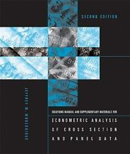 Student's Solutions Manual and Supplementary Materials for Econometric Analysis