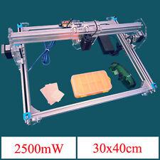 2500mW A3 30x40cm Desktop DIY Violet Laser Engraver Picture CNC Printer Ass