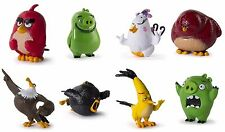 ANGRY BIRDS Collectible Figures Vinyl Complete Set/8 Matilda Leonard Red Plus 5