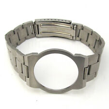 For OMEGA DYNAMIC Mens Stainless Steel SOLID LINK Watch Strap Bracelet Band S9C