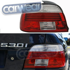 M5 Clear Red Celis Style Tail Lights BMW E39 5-Series 00-03 525i 530i 535i 540i