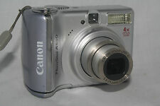 Canon PowerShot A550 7.1 MP Digital Camera - Silver