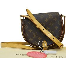 Authentic Louis Vuitton Monogram Tambourine Shoulder Bag TT642