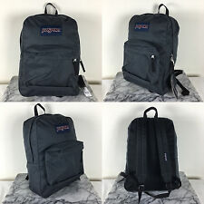 2016 Jansport Superbreak Backpack Forge Grey 100% AUTHENTIC School Charcoal Gray