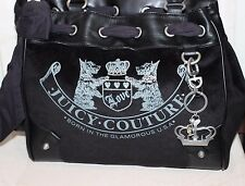 JUICY COUTURE BLACK OLD SCHOOL DAYDREAMER