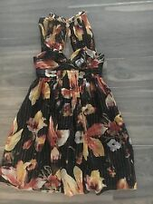 """ANNA SUI FOR ANTHROPOLOGIE"" GORGEOUS SILK DRESS SZ 10 (2)"