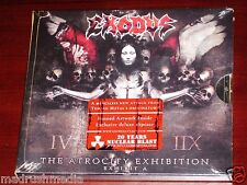 Exodus: The Atrocity Exhibition Exhibit A CD 2007 Nuclear Blast USA Slipcase NEW