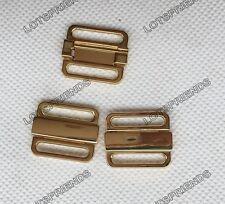 Metal Lingerie Sewing Clasp closure Clips Swimwear Bra Strap Bikini Buckles 20mm