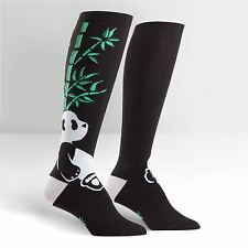 Sock It To Me Women's Funky Knee High Socks - Pandamonium