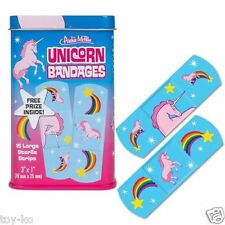 Unicorn Adhesive Bandages Plasters Set in Collectable Band Aid Tin!