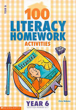 100 Literacy Homework Activities for Year 6 by Chris Webster (Paperback, 2001)