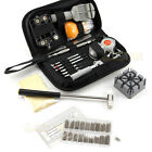 380Pcs Watchmaker Watch Repair Tool Kit Back Case Opener Remover Spring Pin Bars
