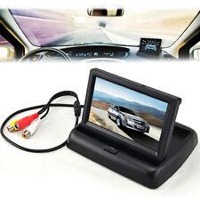 10.9cm TFT LCD Pliable Moniteur Pour Voiture Inverse Caméra De Recul GPS DVD