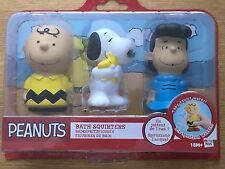 PEANUTS - CHARLIE BROWN - BATH SQUIRTERS ( 3 Pack )