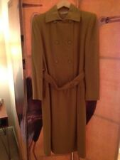 Vintage Camel Double Breasted Coat Dress by Jean Patou