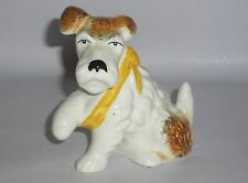 Unusual Sylvac Terrier Dog with Front Leg in a Sling. model No.1436