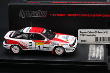 Toyota Celica GT-Four #1 1989 Australia Rally *Juha Kankkunen* - HPI #8084 1/43