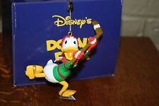 GROLIER Disney DONALD DUCK President's Edition Ornament Mint in Box Hockey