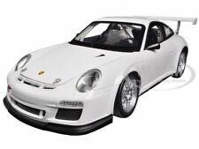 PORSCHE 911 GT3 CUP WHITE 1/18 DIECAST MODEL CAR BY WELLY 18033