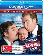 "Will Ferrell in ""The Campaign"" (Blu-ray, 2012, 2-Disc Set) - As New Condition"
