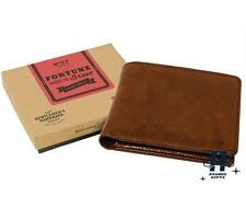 VINTAGE RETRO GENTLEMANS STYLISH BROWN LEATHER WALLET