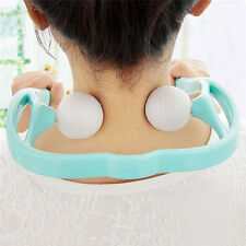 Neck Shoulder Back Pain Massager Roller Ball Self-massage Tool For Health