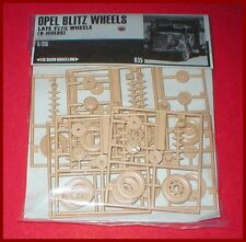 Show Modelling Opel Blitz & Maultier Wheels for Italeri 1/35 Scale Model Kit