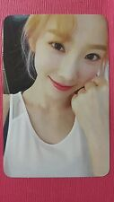 TAEYEON MY VOICE Official PHOTOCARD #4 1st Album Girl's Generation SNSD 태연