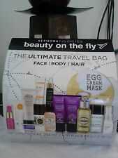 SEPHORA FAVORITES The Ultimate Travel Bag 14 travel approved items & clear bag