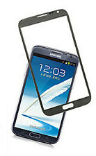 TOP QUALITY SAMSUNG GALAXY NOTE 2 N7100 SCREEN GLASS REPLACEMENT LENS COLOR GREY