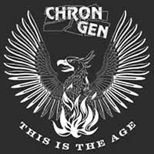 Chron Gen - This Is The age - THE BRAND NEW 2016 Album On CD - IN STOCK NOW