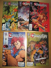 THUNDERCATS : COMPLETE 6 ( 1-5,0 ) ISSUE SERIES by GILMOUR & McGUINNESS. WS.2002