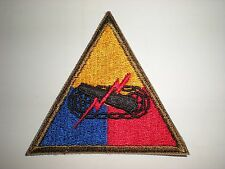 US ARMY WWII ARMORED FORCES UNIT PATCH (ORIGINAL)
