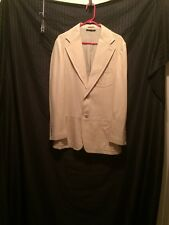 Men's Leather Gucci Sport Jacket Tan Size Unknown