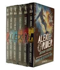 Alex Rider 6 Book pack  Adventure Series Kids Stormbreaker Anthony Horowitz