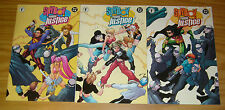 Spyboy/Young Justice #1-3 VF/NM complete series PETER DAVID todd nauck 2002 DC