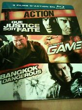 Coffret blu ray Action 3 films